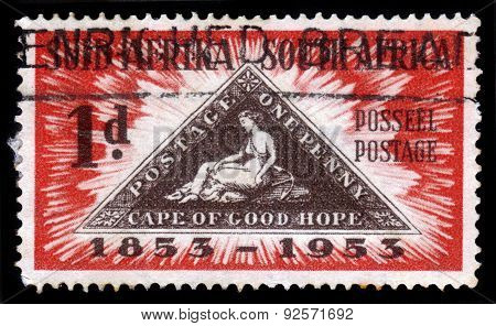100 Years Stamps Cape Of Good Hope