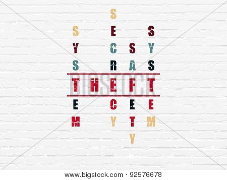 Safety concept: word Theft in solving Crossword Puzzle
