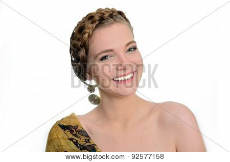 Pretty Smiling Girl