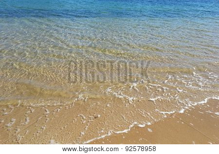 Clean Clear Sea Water