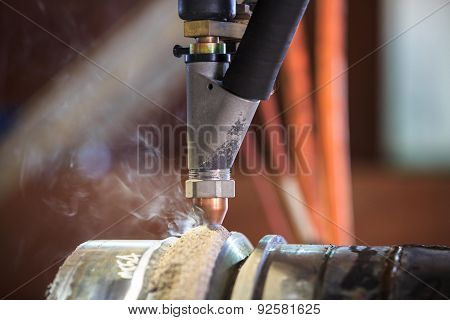Hard surfacing by submerge arc welding process