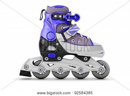 Roller Skate Side View