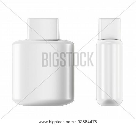 Bottle With Aftershave