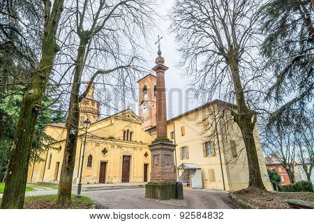 San Terenziano Church In Cavriago, Italy