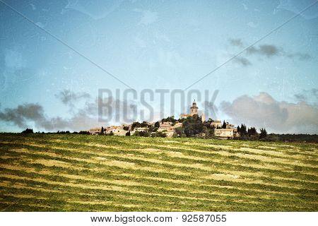 Provence Rural Landscape