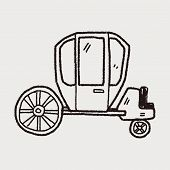 image of stagecoach  - Carriage Doodle - JPG