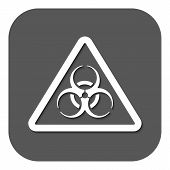 stock photo of biohazard symbol  - The biohazard icon - JPG