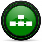 pic of cisco  - database green icon  - JPG