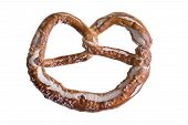 pic of pretzels  - Isolated traditional knot - JPG