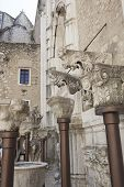 picture of carmelite  - Details of Corbels inside the Convento do Carmo in Lisbon - JPG