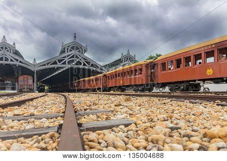 Old Train (maria Fumaca) Saint John Del Rei Station City