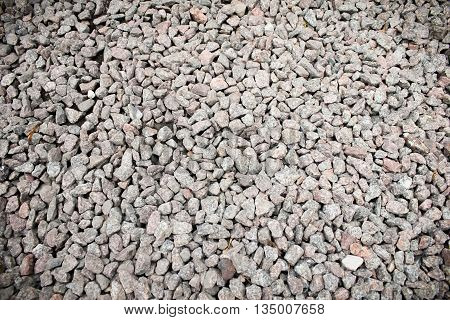gravel stones texture background Coast land rocks