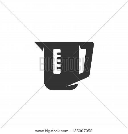 Electric kettle Icon on white background - stock vector