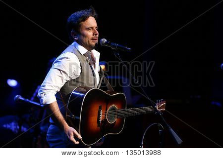 NEW YORK-APR 30: Charles Esten performs onstage during the 'Nashville' Tour at The Beacon Theatre on April 30, 2015 in New York City.