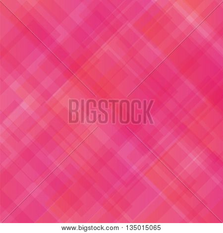 Pink Square Background. Abstract Pink Square Pattern.