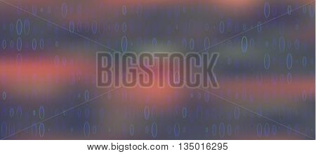 abstract red spots circles blue pattern texture mesh
