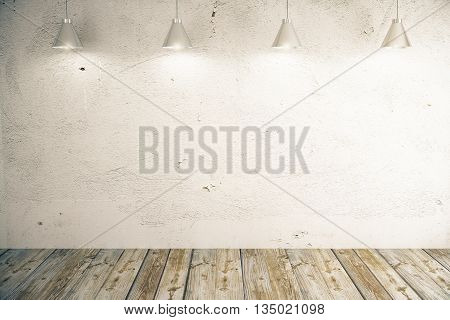 Light Concrete Wall