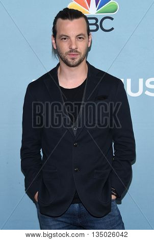 LOS ANGELES - JUN 16:  Gethin Anthony arrives to the