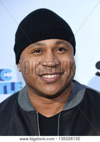 LOS ANGELES - JUN 14:  LL Cool J arrives to the