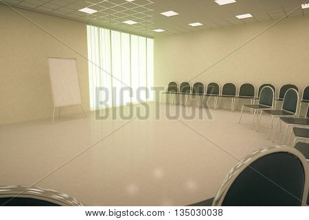 Conference Hall Interior