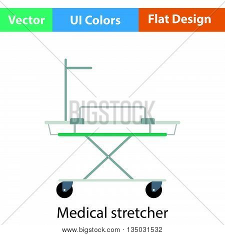 Medical Stretcher Icon