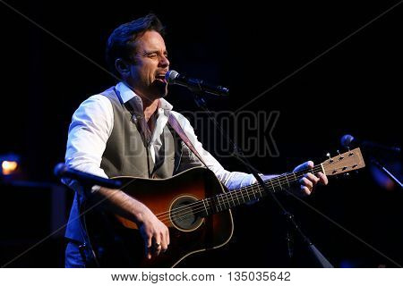 NEW YORK-APR 30: Charles Esten performs onstage during the 'Nashville' Tour at The Beacon Theater on April 30, 2015 in New York City.