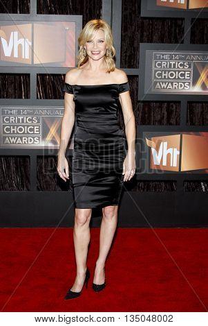 Sarah Jane Morris at the VH1's 14th Annual Critics' Choice Awards held at the Santa Monica Civic Auditorium in Santa Monica, USA on January 8, 2009.
