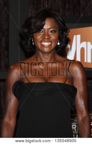 Viola Davis at the VH1's 14th Annual Critics' Choice Awards held at the Santa Monica Civic Auditorium in Santa Monica, USA on January 8, 2009.