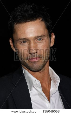 Jeffrey Donovan at the Los Angeles Premiere of