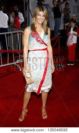 Lori Loughlin at the Los Angeles Premiere of 'High School Musical 3: Senior Year' held at the Galen Center in Los Angeles, USA on October 16, 2008.