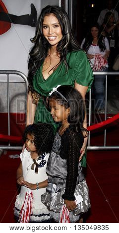 Vanessa Bryant at the Los Angeles Premiere of 'High School Musical 3: Senior Year' held at the Galen Center in Los Angeles, USA on October 16, 2008.
