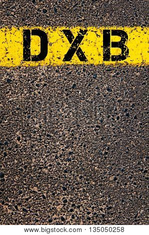 Dxb Three Letters Airport Code