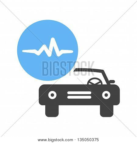 Engine, fluid, clutch icon vector image. Can also be used for car servicing. Suitable for use on web apps, mobile apps and print media.