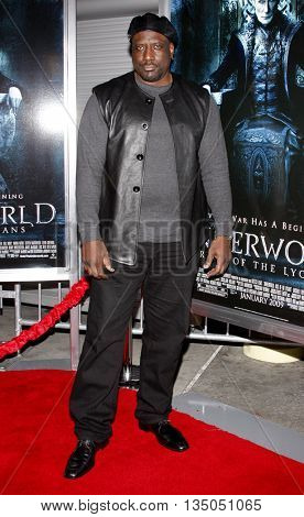 Kevin Grevioux at the World Premiere of 'Underworld: Rise of the Lycans' held at the ArcLight Cinemas in Hollywood, USA on January 22, 2009.