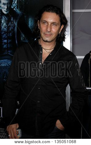 Patrick Tatopoulos at the World Premiere of 'Underworld: Rise of the Lycans' held at the ArcLight Cinemas in Hollywood, USA on January 22, 2009.