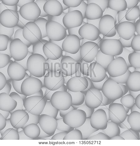 Background stones pebbles. Background pattern of stones. The gray background of the rocks.