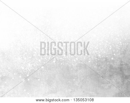 White grey sparkle background with soft glitter