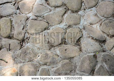 Texture Of The Masonry Stone Wall, Seamless Pattern
