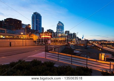 Seattle, Wa - March 23, 2011. Northwest Region Of North America
