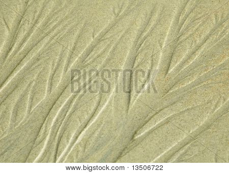 abstract pattern of beach sand