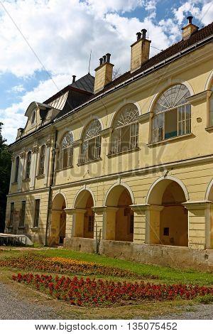 Pejacevic castle in Virovitica home to Virovitica Municipal Museum Croatia