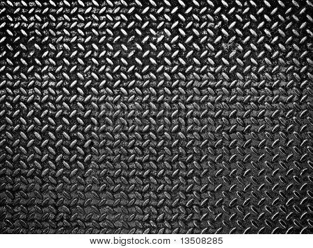 black diamond metal background