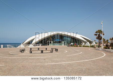 St Paul's Bay Malta - May 08 2016: Malta Nationale Aquarium in St Paul's Bay Malta