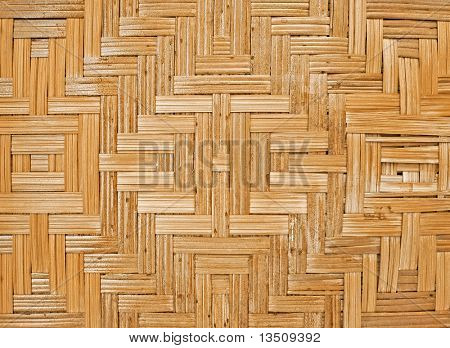 pattern of rattan weave