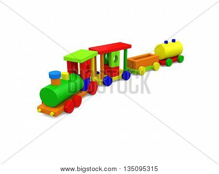 Happy Toy Train