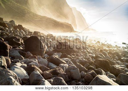 Madeira Coast - Cliffs And Rocky Beach