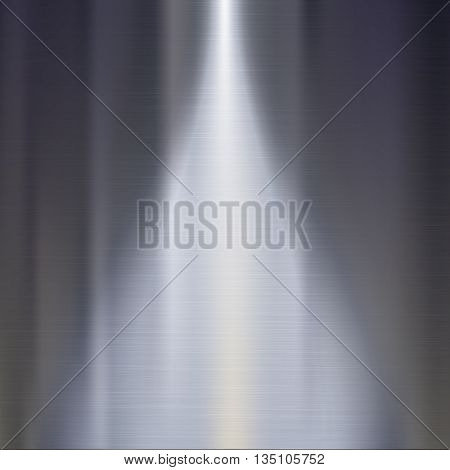 Metal texture background. Metal plate vector editable texture, easy to change size