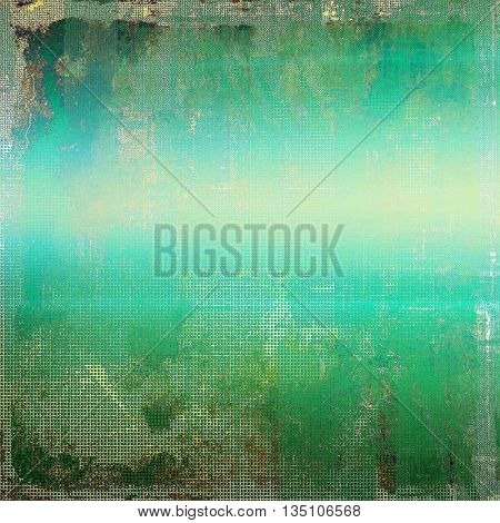 Retro vintage colored background with noise effect; grunge texture with different color patterns: yellow (beige); brown; green; blue; gray; cyan