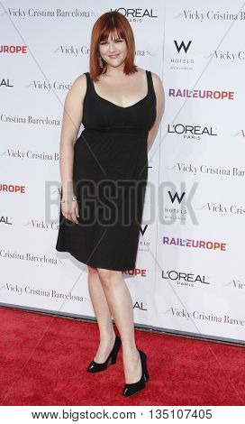 Sara Rue at the Los Angeles premiere of 'Vicky Cristina Barcelona' held at the Mann Village Theater in Westwood, USA on August 8, 2008.
