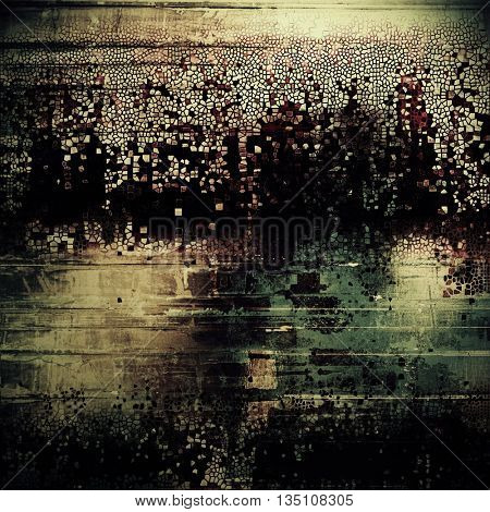 Colorful grunge background, tinted vintage style texture. With different color patterns: yellow (beige); brown; green; gray; black; pink